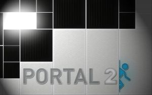 Portal 2 WALLPAPER V2 by REALTRASE