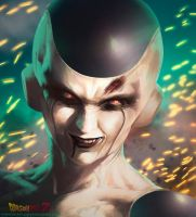 Realistic Frieza by Kimonas
