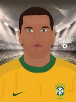 Daniel Alves Vector by bluezest1997