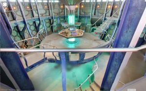 2013 Tardis Console Room Catwalk 003 by Ex-Pendable