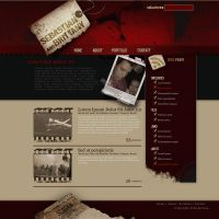 Blog Template by sebgonz