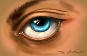 Blue Eye by tapash09