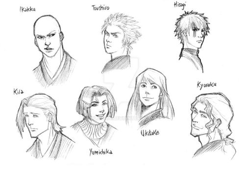 Bleach sketches 2.0 (II) by Olaunis