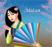 Mulan for contest entry by areemus
