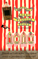 Bertie Bott's Box Template by greendude34