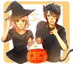Happy SS Halloween by Nekuri-kun