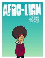 AFRO-LION by chillyfranco