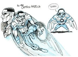 New Captain America by tombancroft