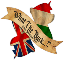 What The Buck...!? Logo by DonKazim