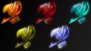 Fairy Tail logos by Anzachs
