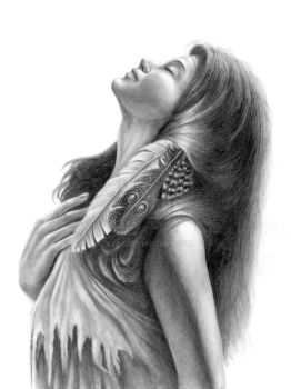 Indian Drawing - 1 by KJS-1