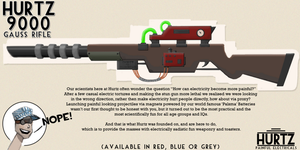 TF2 Hurtz 9000 Guass Rifle by BaronTPie