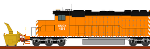fictional modified sd40-2 by wolvesone