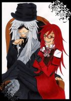 Undertaker and Grell finished by DeidaraGirl91