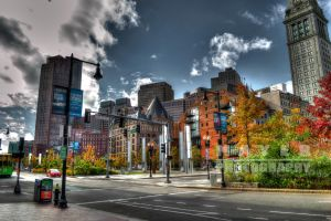 Downtown Boston by Mayer-Photography
