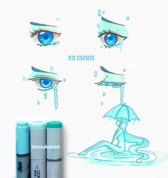 +Eye Tales- It's Raining+ by larienne