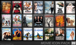 Movie Icon Pack 99 by FirstLine1