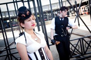Clock Tower Photo session pt vi by SteampunkChile