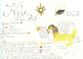 Kate.:REFERENCE SHEET:. by Tanchie97