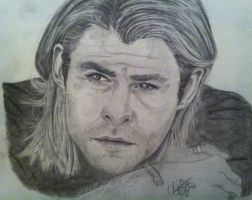 Chris Hemsworth by khrysta