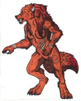 Werewolf Form by CaptainLupin90