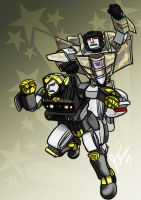 Two Decepticons Into Action by jameson9101322
