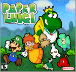 paper luigi by marshie-chan