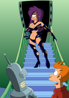 Futurama - Sexy Outfit by Spider-Matt