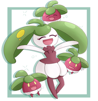 Steenee and Bounsweet