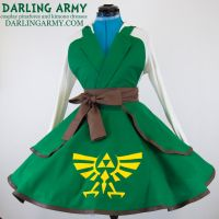 Link Legend of Zelda Cosplay Pinafore by DarlingArmy
