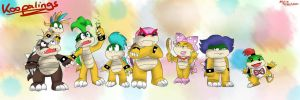 Koopalings!! by 1GreenHills1