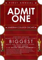 Jumeirah College Oscars Invite by gnu32