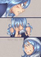 juvia lockser  - fairy tail 394 by iKiroun