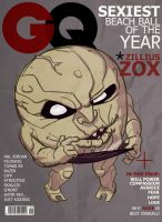 Zox GQ Cover by jakecastorena