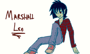 Marshall Lee - Sketch by the88cherryice