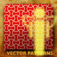 Vector Patterns. Yellow Angel by paradox-cafe