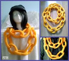 Chain Link Scarf by Petra0