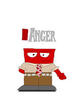 Inside Out - Anger by TheDisney1901atDA