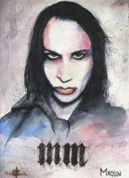 Marilyn Manson by Shinigami-uta