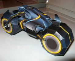 Tron papercraft more angles 2 by mobydisk