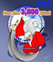 Inuyasha for the 3,500 hits by Dawitch