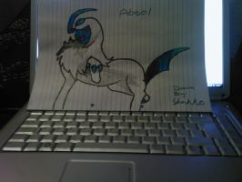 Absol pen to paper by Shakko1993