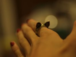 the cat ring. by kamellie