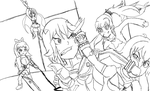 Kill la Kill vs. RWBY by Lord4536
