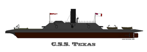 The C.S.S. Texas by PhantomofTheRuhr