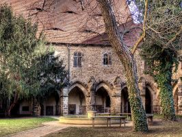 The Cloister by MisterKrababbel