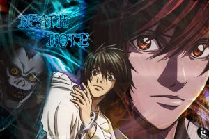 Death note Wallpaper by ghysella