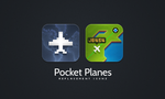 Pocket Planes replacement icons by jonarific