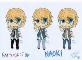 SMproject: Naoki- casual clothes colour sets by shinarei