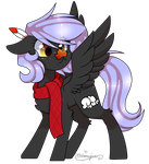 Cloudy's ready for Autumn by OhHoneyBee